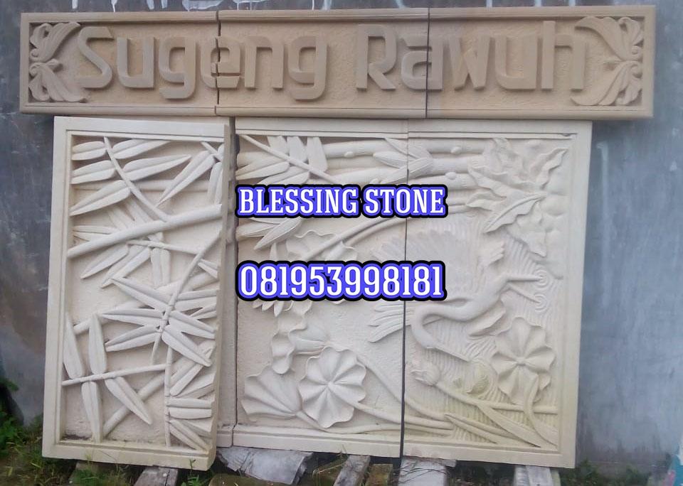 Tempat Jual Batu Paras Ukir Jogja Murah